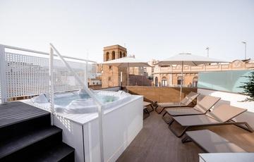 Terrace Nuevo Torreluz Hotel