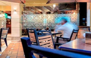Taberna terrace Nuevo Torreluz Hotel